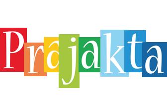 Prajakta colors logo
