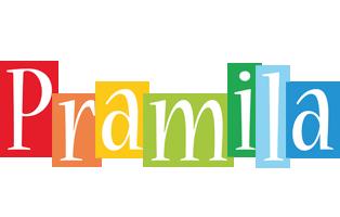 Pramila colors logo