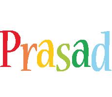 Prasad birthday logo