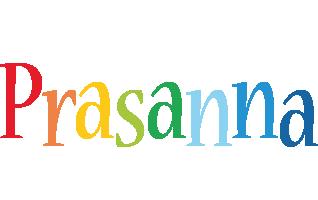 Prasanna birthday logo