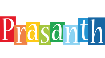 Prasanth colors logo