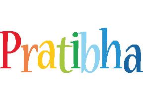 Pratibha birthday logo