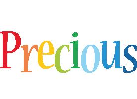 Precious birthday logo