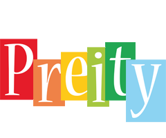 Preity colors logo