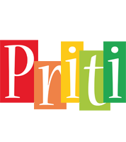Priti colors logo