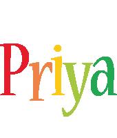 Priya birthday logo