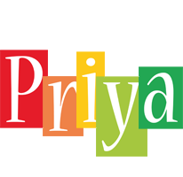 Priya colors logo