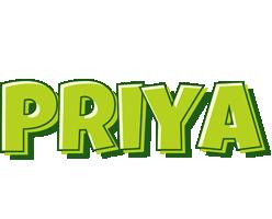 Priya summer logo