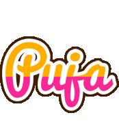 Puja smoothie logo