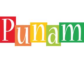 Punam colors logo