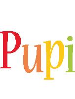 Pupi birthday logo
