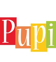 Pupi colors logo