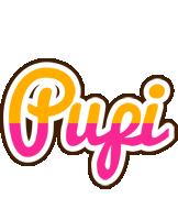 Pupi smoothie logo