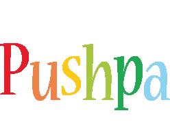 Pushpa birthday logo