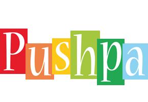 Pushpa colors logo