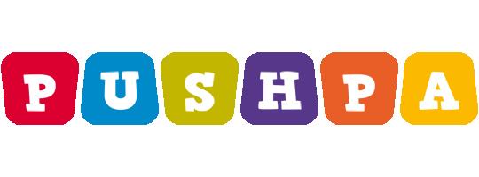 Pushpa kiddo logo