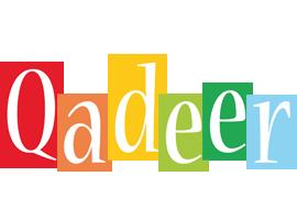 Qadeer colors logo