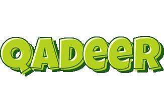 Qadeer summer logo