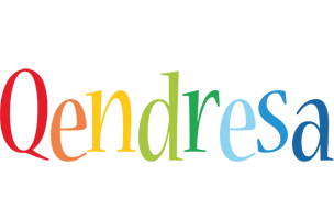 Qendresa birthday logo