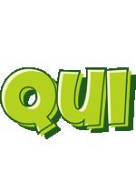 Qui summer logo