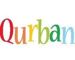 Qurban birthday logo