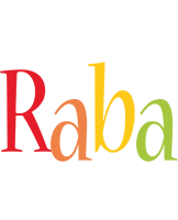Raba birthday logo