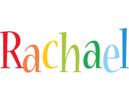Rachael birthday logo