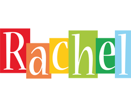Rachel colors logo