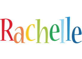 Rachelle birthday logo
