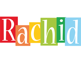 Rachid colors logo