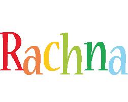 Rachna birthday logo