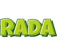 Rada summer logo