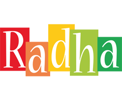 Radha colors logo