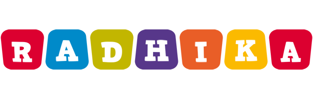 Radhika kiddo logo