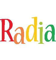 Radia birthday logo