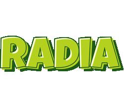 Radia summer logo