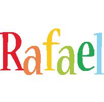 Rafael birthday logo