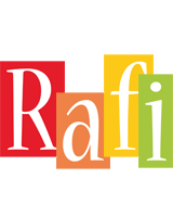 Rafi colors logo