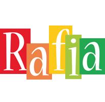 Rafia colors logo