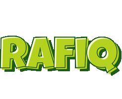 Rafiq summer logo