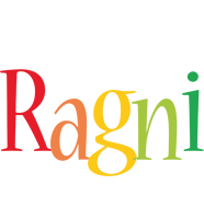 Ragni birthday logo