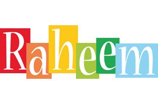Raheem colors logo
