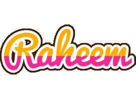 Raheem smoothie logo