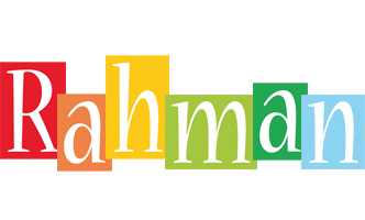 Rahman colors logo