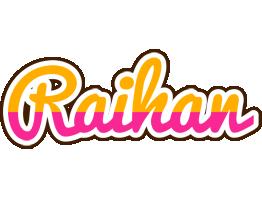 Raihan smoothie logo