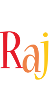 Raj birthday logo