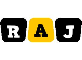 Raj boots logo