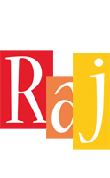 Raj colors logo