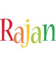 Rajan birthday logo