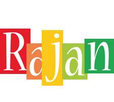 Rajan colors logo